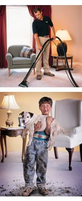 Carpet Cleaning and Dirty Pet