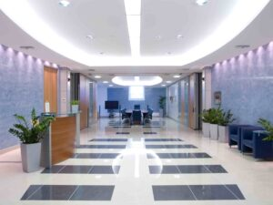 Office furniture & flooring cleaning
